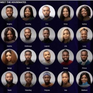 Meet All The BBNaija Lockdown Geng Housemates, Who Is Your Favourite? (See Photos + Names)