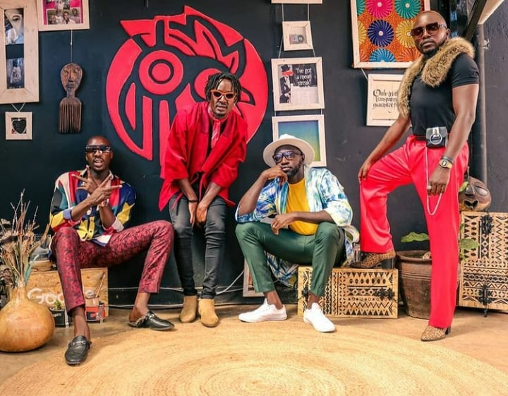 Sauti Sol Headlines YouTube Black Africa Creator Week
