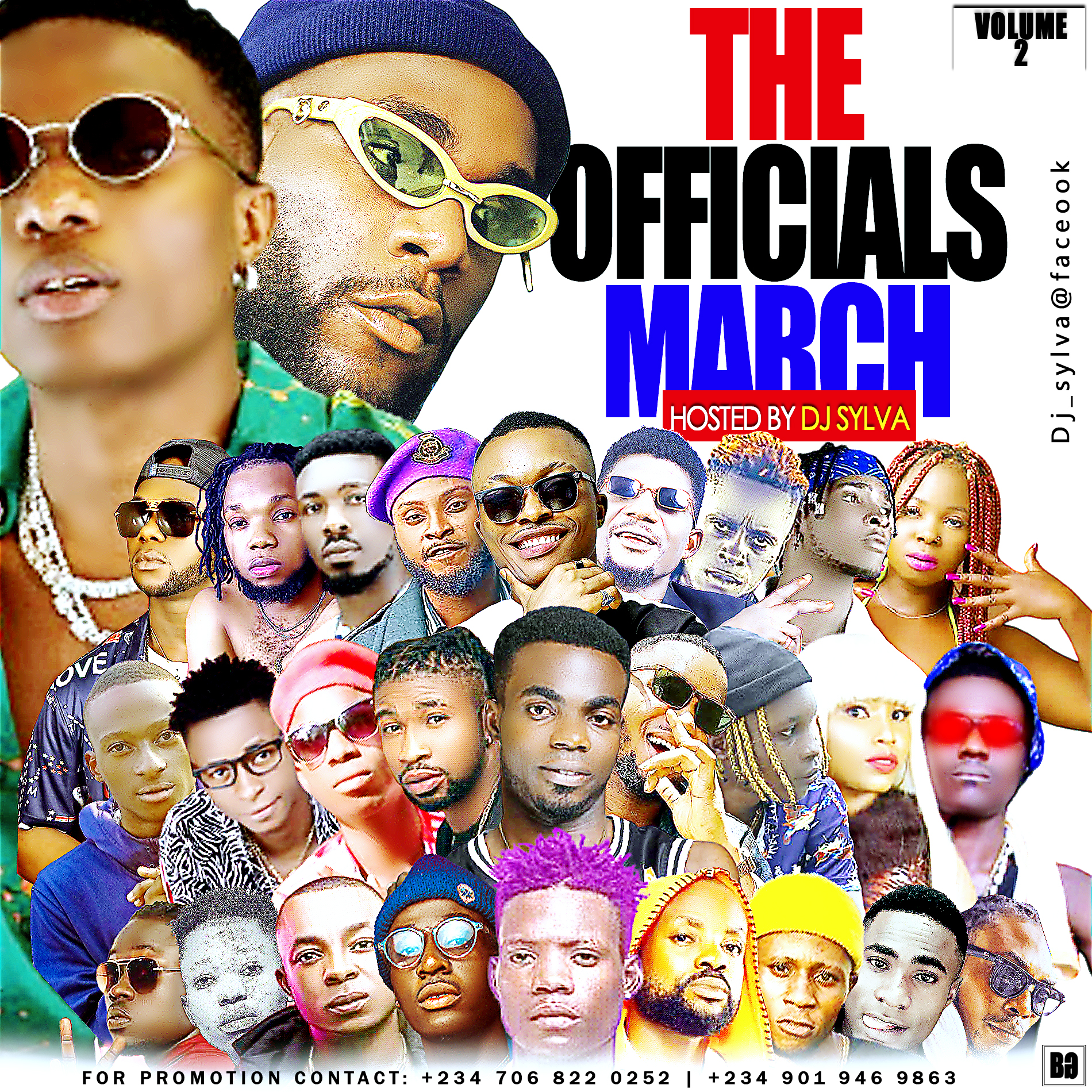 DOWNLOAD MIXTAPE: THE OFFICIALS MARCH HOSTED BY DJ SYLVA